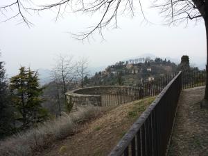Veduta dal Castello di San Vigilio